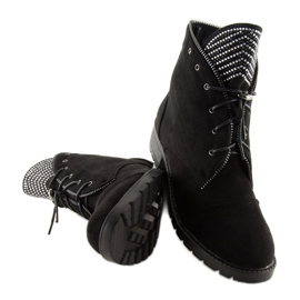 Workery damskie czarne GF055 Black 5
