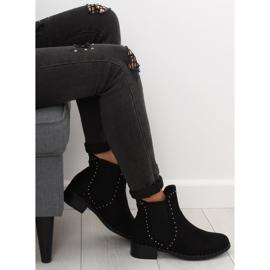 Sztyblety damskie czarne 1002-1 Black 1