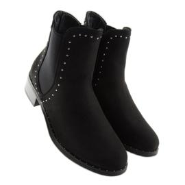 Sztyblety damskie czarne 1002-1 Black 3