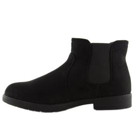 Sztyblety damskie czarne Y206 Black 5