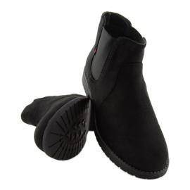Sztyblety damskie czarne Y206 Black 6