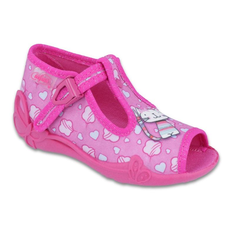 Befado różowe obuwie dziecięce 213P108 zdjęcie 1