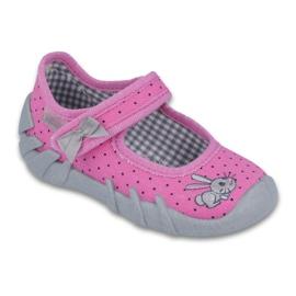 Befado obuwie dziecięce 109P169 różowe 1