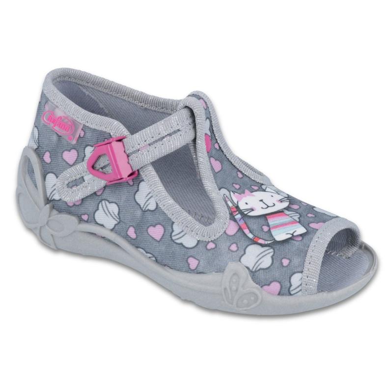 Befado różowe obuwie dziecięce 213P107 zdjęcie 1