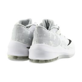 Buty koszykarskie Nike Air Max Infuriate 2 białe białe 4