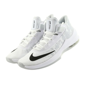 Buty koszykarskie Nike Air Max Infuriate 2 białe białe 2