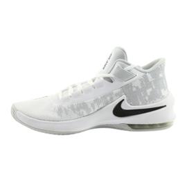 Buty koszykarskie Nike Air Max Infuriate 2 białe białe 1
