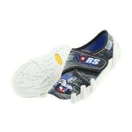 Befado buty dziecięce kapcie 273X251 czarne niebieskie szare czerwone 5