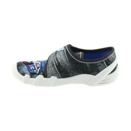 Befado buty dziecięce kapcie 273X251 czarne niebieskie szare czerwone 2