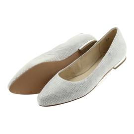 Caprice balerinki buty damskie 22104 szare 5