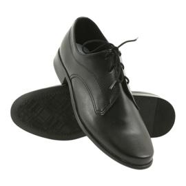 Miko półbuty dziecięce buty chłopięce komunijne czarne 3