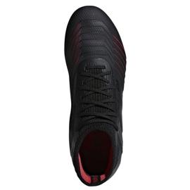 Buty piłkarskie adidas Predator 19.1 FG Jr D97997 czarne 1