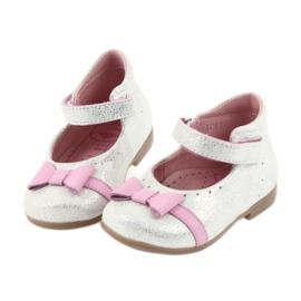 Balerinki na rzepy buty dziecięce Ren But 1493 DISKO 4