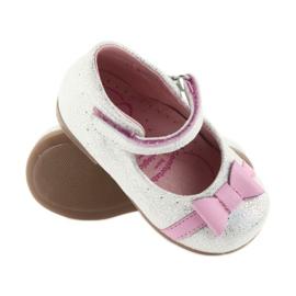 Balerinki na rzepy buty dziecięce Ren But 1493 DISKO 3