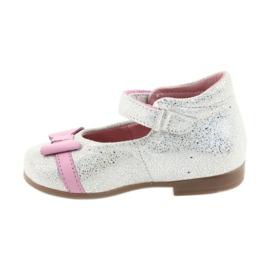 Balerinki na rzepy buty dziecięce Ren But 1493 DISKO 2