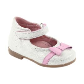 Balerinki na rzepy buty dziecięce Ren But 1493 DISKO 1