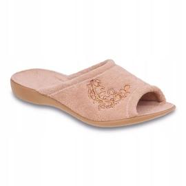 Befado obuwie damskie pu 256D013 beżowy 1