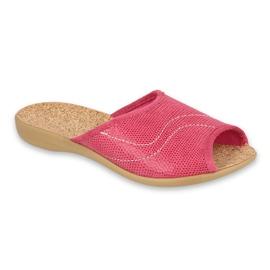 Befado obuwie damskie pu 254D092 różowe 1