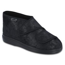 Befado obuwie damskie  pu 986D006 czarne 1