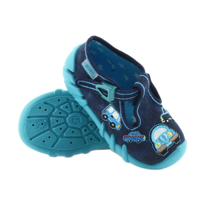 Befado szare obuwie dziecięce 110P342 zdjęcie 5