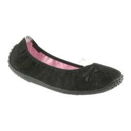 Befado obuwie młodzieżowe 893Q093 czarne 2