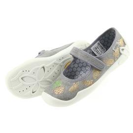 Befado kapcie buty dziecięce 114Y345 rzepy 4