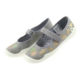 Befado kapcie buty dziecięce 114Y345 rzepy 3