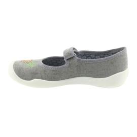 Befado kapcie buty dziecięce 114Y345 rzepy 2