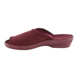 Befado obuwie damskie pu 581D193 wielokolorowe czerwone 3