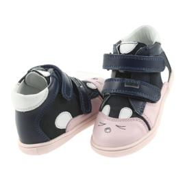 Trzewiki buty dziecięce na rzepy królik Bartek 11702 4