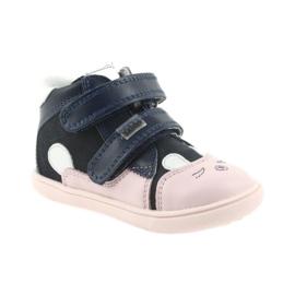 Trzewiki buty dziecięce na rzepy królik Bartek 11702 1