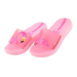 Klapki dziecięce Flaming Ipanema 26325 różowe 3
