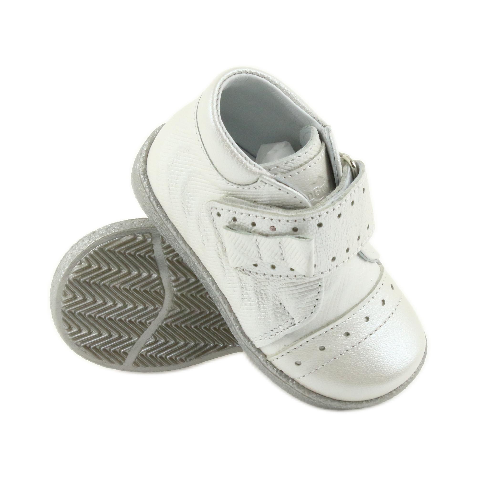 Trzewiki na rzepy buty dziecięce Ren But 1535 kokarda