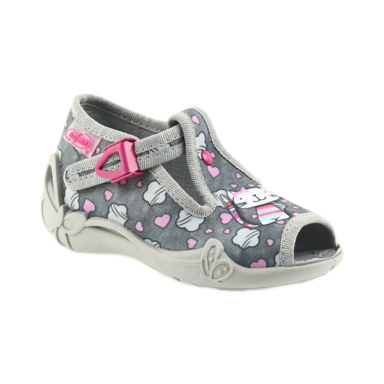 Befado różowe obuwie dziecięce 213P107 zdjęcie 2