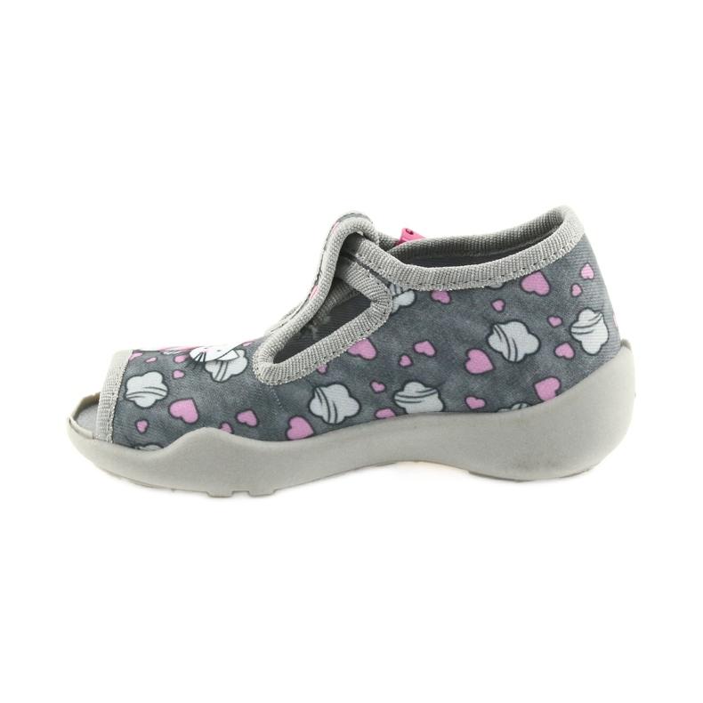 Befado różowe obuwie dziecięce 213P107 zdjęcie 3