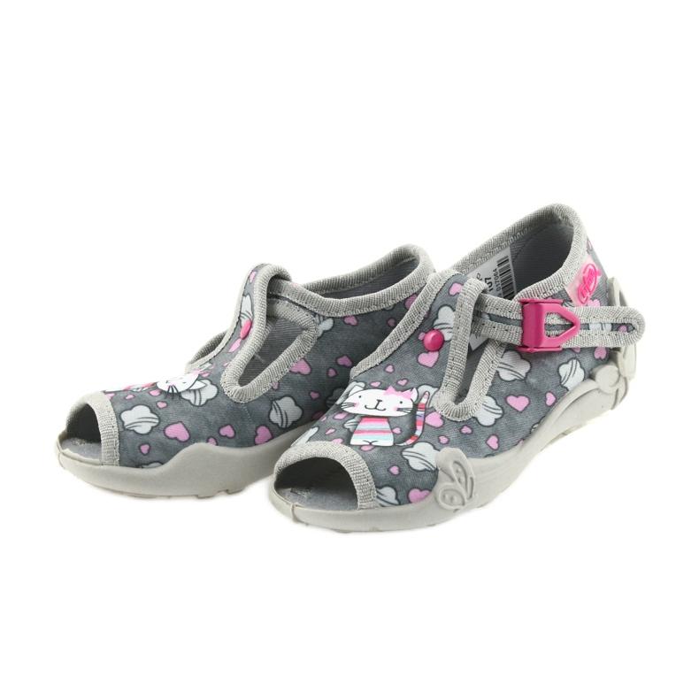 Befado różowe obuwie dziecięce 213P107 zdjęcie 4