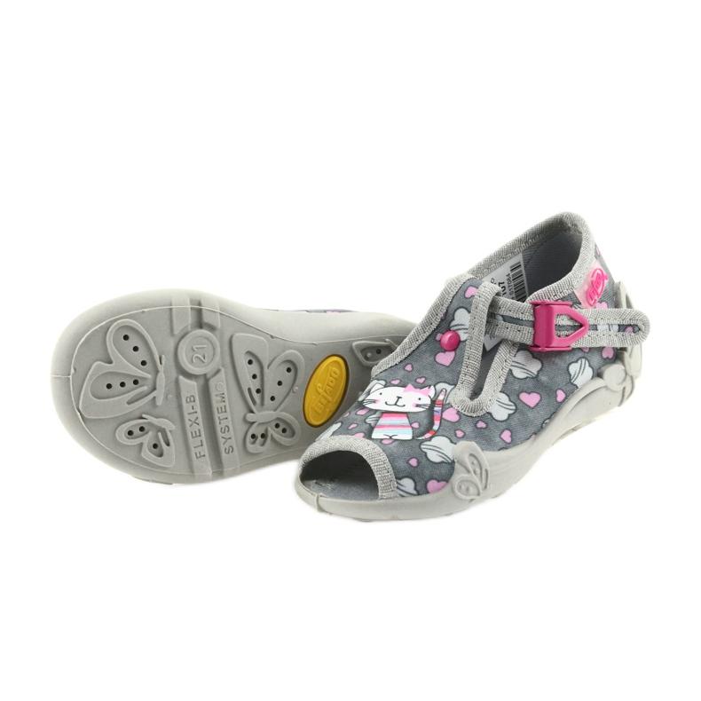 Befado różowe obuwie dziecięce 213P107 zdjęcie 5