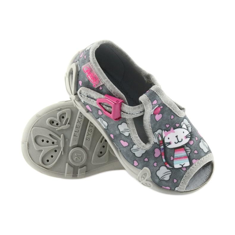 Befado różowe obuwie dziecięce 213P107 zdjęcie 6