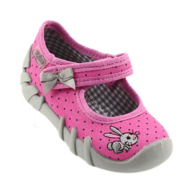 Różowe Befado obuwie dziecięce 109P169 zdjęcie 2