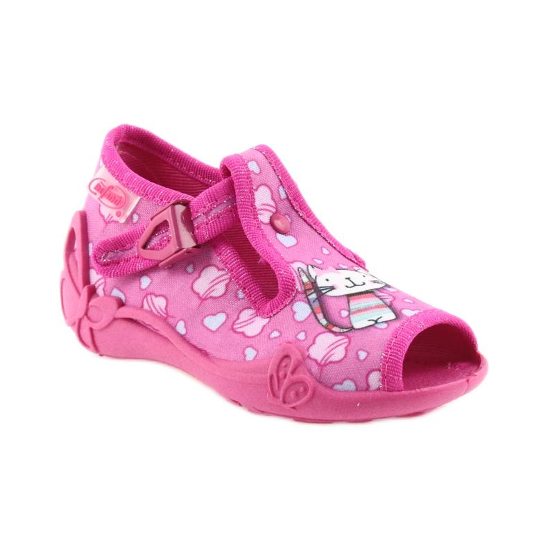 Befado różowe obuwie dziecięce 213P108 zdjęcie 2