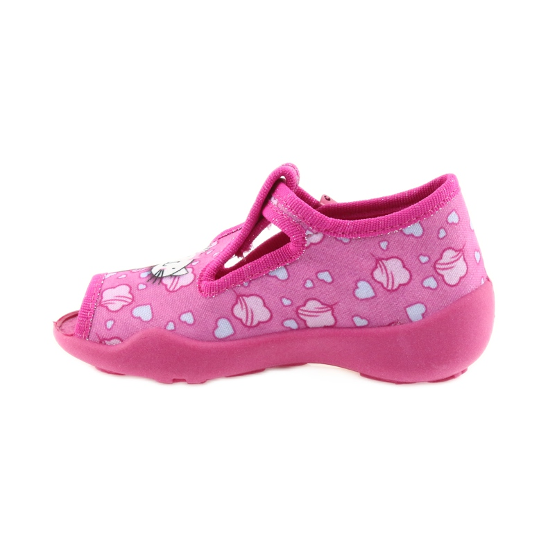 Befado różowe obuwie dziecięce 213P108 zdjęcie 3