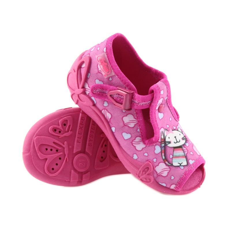 Befado różowe obuwie dziecięce 213P108 zdjęcie 4