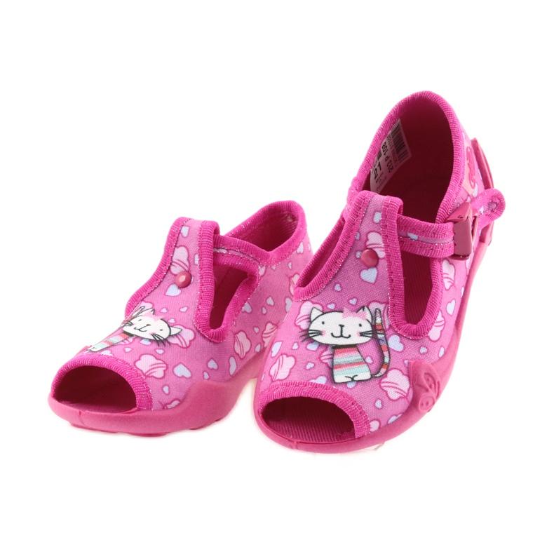 Befado różowe obuwie dziecięce 213P108 zdjęcie 5