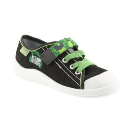 Befado obuwie dziecięce 251X102 szare zielone 2