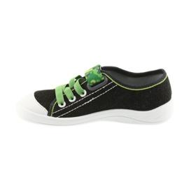 Befado obuwie dziecięce 251X102 szare zielone 3