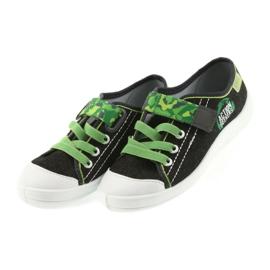 Befado obuwie dziecięce 251X102 szare zielone 4
