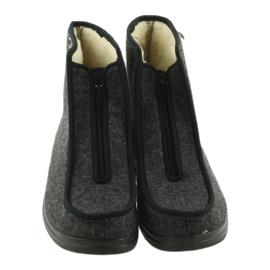 Befado obuwie męskie pu 996M004 szare 5