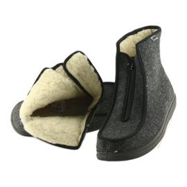 Befado obuwie męskie pu 996M004 szare 6