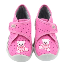 Befado  obuwie dziecięce 112P185 różowe 5