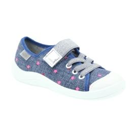 Befado obuwie dziecięce 251X105 niebieskie 2